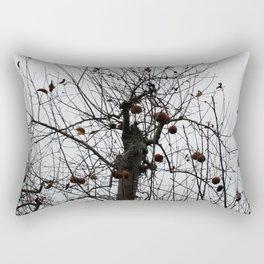 Winter's Apples Rectangular Pillow
