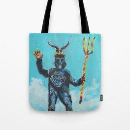 The Devil of Mallorca Tote Bag