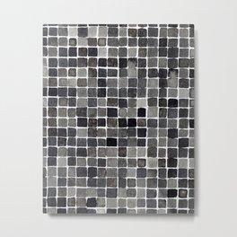 Grid I Metal Print
