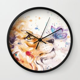 Finn's Lion Wall Clock
