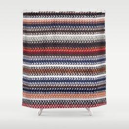 Texture laine Shower Curtain