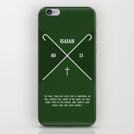 Isaiah 40:11 iPhone Skin