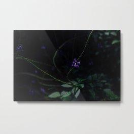 Hint of Purple Metal Print
