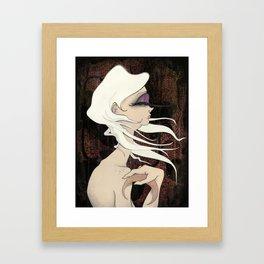 Moonlight Goddess Framed Art Print