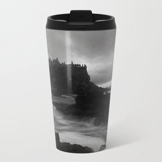 Evening at Dunluce Metal Travel Mug