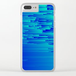 Speed Trap - Pixel Art Clear iPhone Case