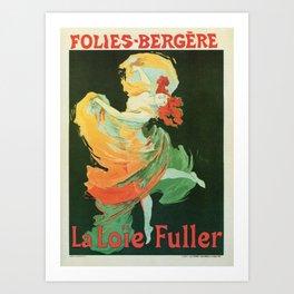 La Loie Fuller Art Print