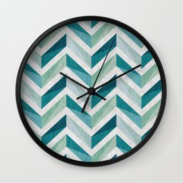 Chevron 15 Wall Clock