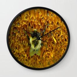 The Pollinator Flipped Wall Clock