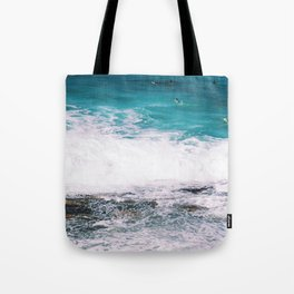 Waiting On the Wave Tote Bag