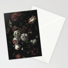 Arms Full Of Flowers II [antique painting remixed] Stationery Cards