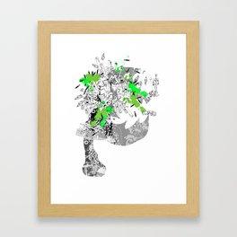 CutOuts - 8 Framed Art Print
