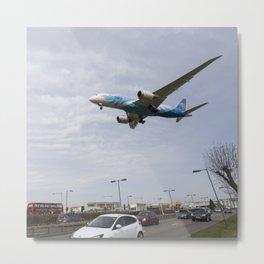 China Southern Boeing 787 Metal Print