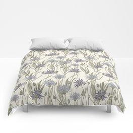 vintage cornflowers Comforters