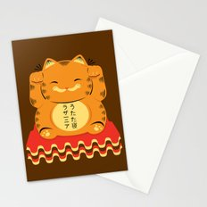 Lucky Garfield Stationery Cards