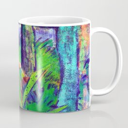 Otto Mueller Forest with Flowers and Pond Coffee Mug