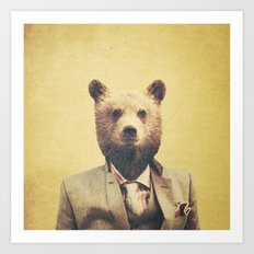 Humanimal: Bear Art Print