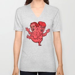 The GOP's 2-Headed Monster Unisex V-Neck