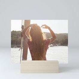 Sailor girl- Travel photography- Sailing photography- Nautical photography Mini Art Print