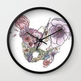 Pelvic Flora (Color) Wall Clock