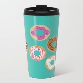 Delicious Donuts Metal Travel Mug
