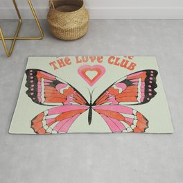 Welcome To The Love Club Rug
