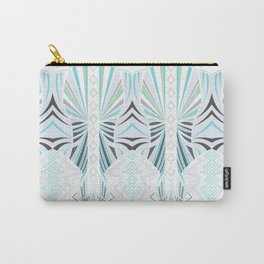 Deco in Blue Carry-All Pouch