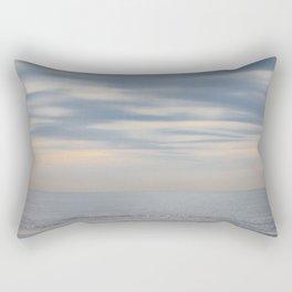 Morning at the ocean Rectangular Pillow