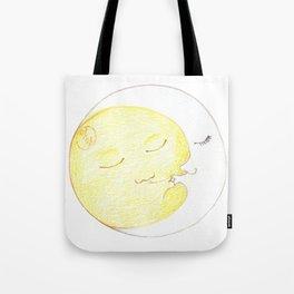 Moon Kiss Tote Bag