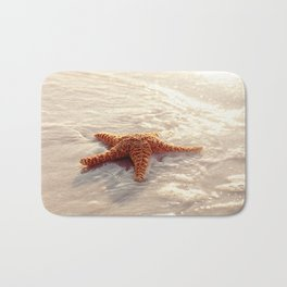 Sugar Starfish I Bath Mat