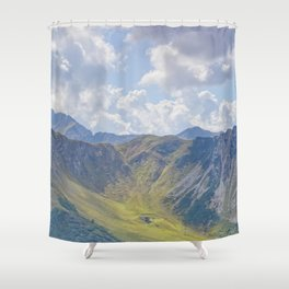 Summer Slope Shower Curtain