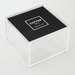 Black Coffee No5 Acrylic Box