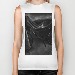 Get On Your Bike And Ride - Black And White Biker Tank