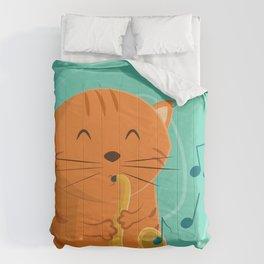 Jazz Cat Comforters
