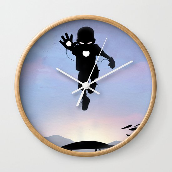 Iron Kid Wall Clock