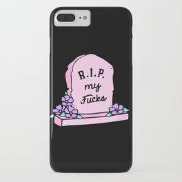 R.I.P. My Fucks iPhone Case