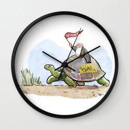 Charles Darwin Wall Clock