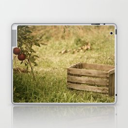apple crate photograph Laptop & iPad Skin