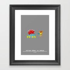 Mother Hunter Framed Art Print