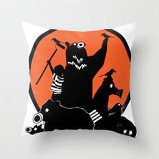 King of The Urban Jungle Throw Pillow