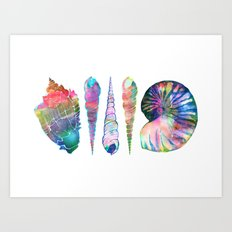 SEASHELL LOVE I Art Print