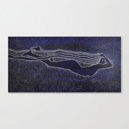 Nuit The Sky Goddess Canvas Print