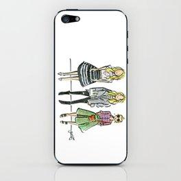 Fashion Illo Trio iPhone Skin