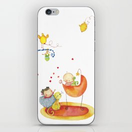 Baby surprise iPhone Skin
