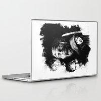 walking dead Laptop & iPad Skins featuring The Walking Dead by Drumond Art