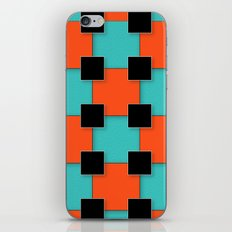Cubist Cat iPhone Skin