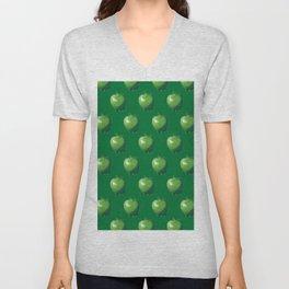 Green Apple_B Unisex V-Neck