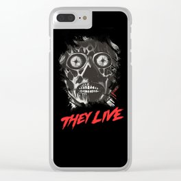 They Live - Obey Clear iPhone Case