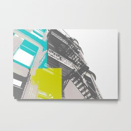 collide Metal Print