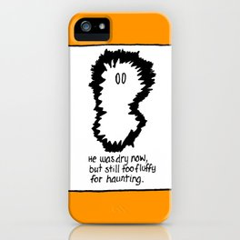 FLUFFY GHOST iPhone Case